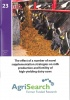 Booklet 23 - The effect of a number of supplementation strategies on milk production and fertility of high-yielding dairy cows