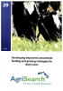 Booklet 29 - Developing improved concentrate feeding and grazing strategies for dairy cows